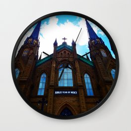 Holy Door Wall Clock