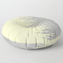 Concrete Fringe Yellow Floor Pillow