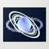 planet Canvas Prints featuring Planet by Timothy J. Reynolds