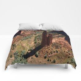 Amazing Spider Rock Comforters