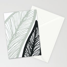 Sway To The Beat / Bold Banana Leaf Stationery Cards