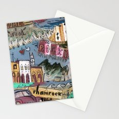 Rocky Campground Stationery Cards