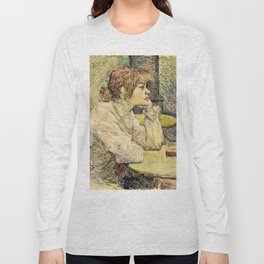 Henri De Toulouse Lautrec - The Hangover Long Sleeve T-shirt