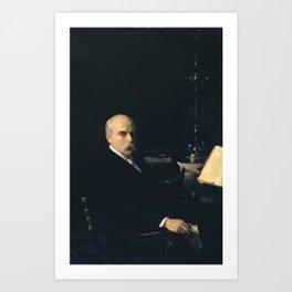 John Singer Sargent - Professor Ingram Bywater Art Print