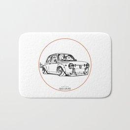 Crazy Car Art 0087 Bath Mat