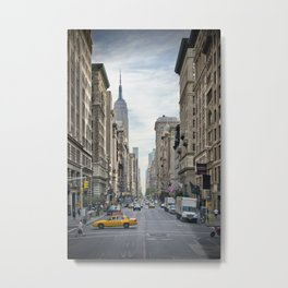 NEW YORK CITY 5th Avenue Metal Print