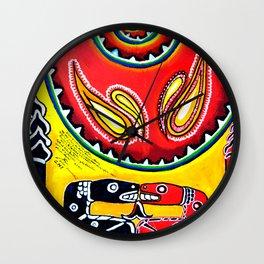 consejo indigena Wall Clock