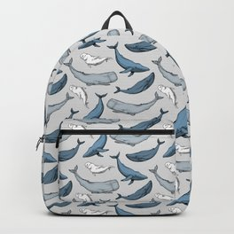 Whales are everywhere Backpack