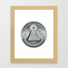 The Great Seal Framed Art Print