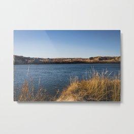 Downstream Campground, North Dakota 3 Metal Print