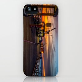 Sunrise on the Pier Avila Beach California iPhone Case