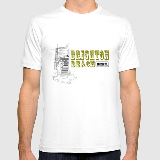 Brighton Beach Elevated Station T-shirt