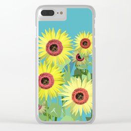 A sunny day Clear iPhone Case