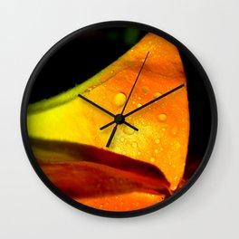Perfect Orange Wall Clock