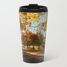 Crazy Fall Metal Travel Mug