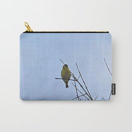 Little Yellow Bird Tree Bare Branches Carry-All Pouch