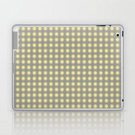 Yellow star pattern Laptop & iPad Skin