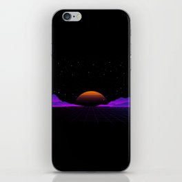 Vaporwave Outrun | Eighties Style iPhone Skin