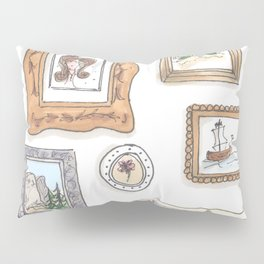 Whimsical Gallery Wall Pillow Sham