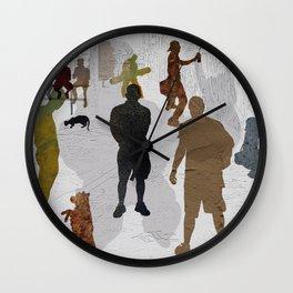 Street Boys Wall Clock