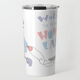 Walking in a Winter Wonderland Travel Mug