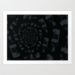 Trance of the Elixir  Art Print