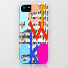 Get Woke iPhone Case