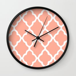 White Rombs #9 The Best Wallpaper Wall Clock
