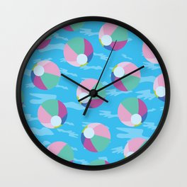 Pool Balls Wall Clock
