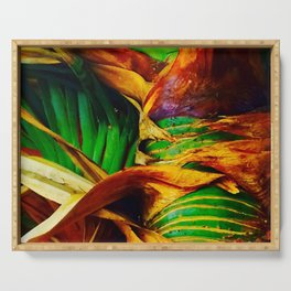 Pandanus in the Tropics Serving Tray