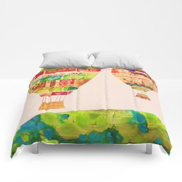 Hot Air Balloons Comforters