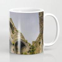 ruben ireland Mugs featuring Castle, Ireland by Ashley Hirst Photography
