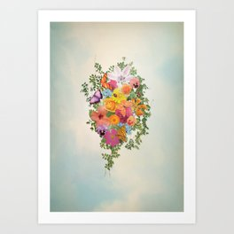 FLORAL // LIFE OF FLOWERS Art Print