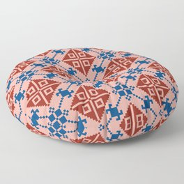 Folk Pattern Floor Pillow