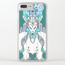 Cubchoo Evolution Totempole Clear iPhone Case