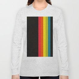 Retro Camera Color Palette Long Sleeve T-shirt