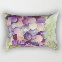 Wine Grapes 2 Rectangular Pillow