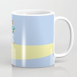 men bowling Coffee Mug