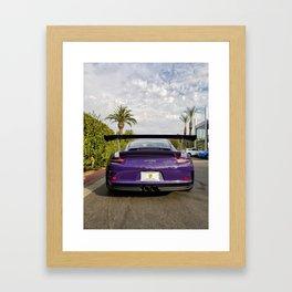 GT3 RS Booty Framed Art Print
