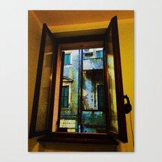 Window to the Rain Canvas Print