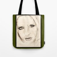 buffy Tote Bags featuring buffy by als3