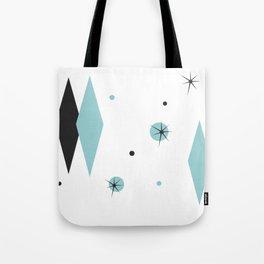 Vintage 1950s Mid Century Modern Design Tote Bag