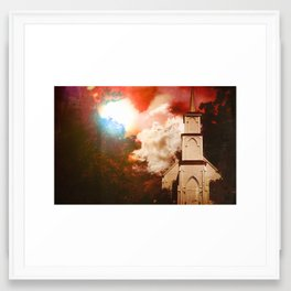 Deepwoods Grove Church Framed Art Print