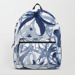 Midnight Desert Garden (watercolor) Backpack