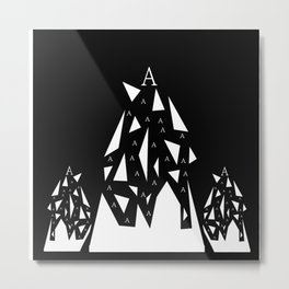 Triangle A Metal Print