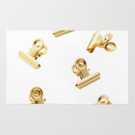 Golden Clips Rug