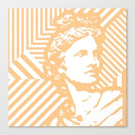 Gods Geometric - Apollo Canvas Print