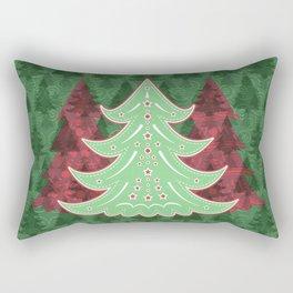 Xmastrees_05b Rectangular Pillow