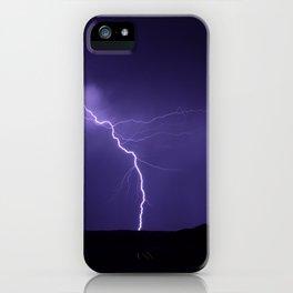 Lightning Strikes - II iPhone Case