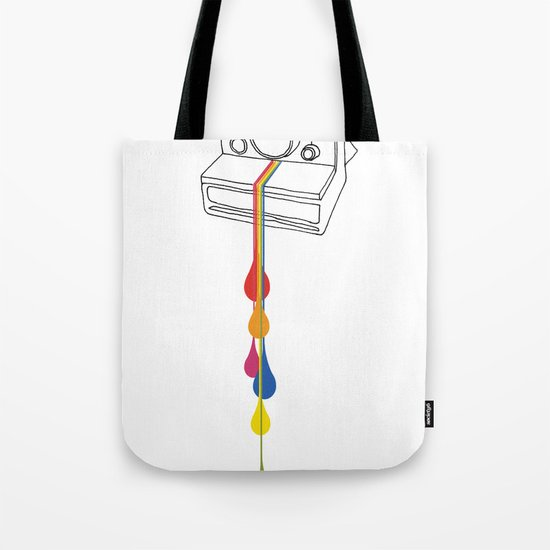 Polaroid Drips Tote Bag